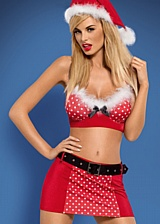 Ensemble 4 pi�ces Mrs Claus